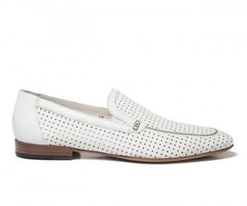Pantofola 55315-bianco
