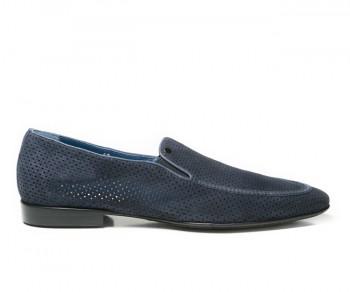 Pantofola 58283-blu