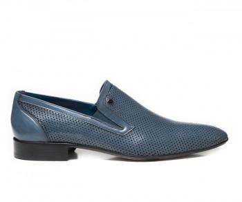 Pantofola 59835-navy