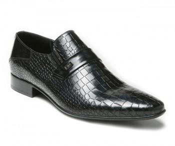 Pantofola vernice 59848-nero