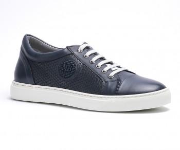 Sneaker vitello blu-59891