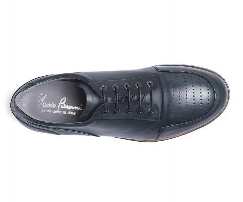 Sneaker vitello blu-59799