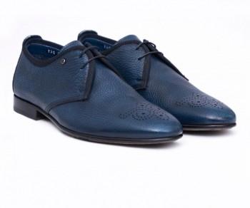 LACED SHOE- 60894 SOFT BLUE