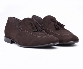 SLIPPER - 60919 DARK BROWN